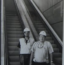 Image of Van De Zande, Doug - Chris Cotleur, Ron Oshields; escalator crew