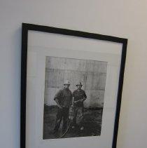 Image of Van De Zande, Doug - Haven Gassaway and his dad, Mark
