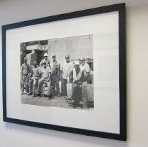 Image of Van De Zande, Doug - Stone Masons: Chris Sellers, William Newman, Shawn Pridgen, Doran Long, David Earp, Brian Mitchell
