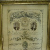 Image of 1347.y - Certificate, Marriage