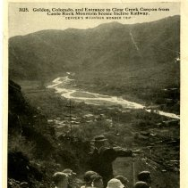 Image of 3125 Golden and Clear Creek Canyon from the Castler Rock Scenic Incline Rai