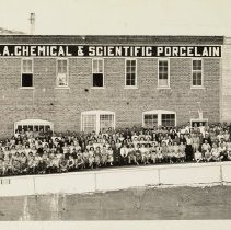 Image of Coors Porcelain employees, c. 1940s