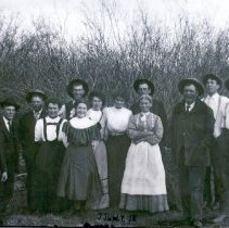 Image of Tripp family, about 1912