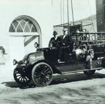 Image of Golden's first fire truck