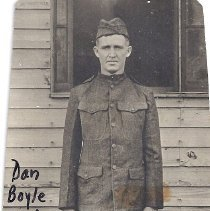 Image of Dan Boyle in U.S. Army uniform WWI