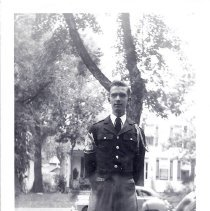Image of Melville James Coolbaugh in CSM Band uniform