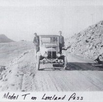 Image of Model T on Loveland Pass