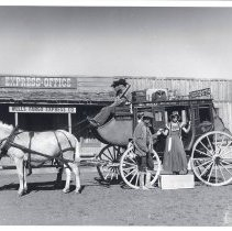 Image of Table Mountain Productions, stagecoach
