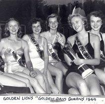 Image of Golden Lions Club Golden Days queens