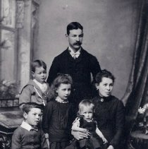 Image of Bicknell family, c 1889
