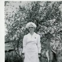 Image of Osie Coolbaugh in Red Cross unifrom