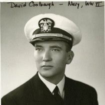 Image of David Coolbaugh in Navy dress uniform