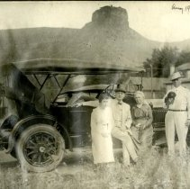 Image of Group with Car, 1919