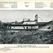 Image of Dredge near Golden