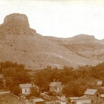 Image of Castle Rock with residences