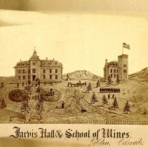 Image of Jarvis Hall and School of Mines, Golden, Colorado