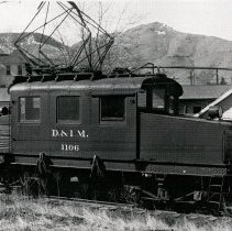 Image of Denver & Inter Mountain electric engine 1106