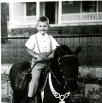 Image of Bill Clark on pony