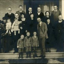Image of Parfet Family outside home
