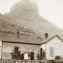 Image of Rhonda Parfet's House with Castle Rock