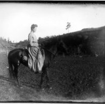 Image of Christina Wikstrom riding