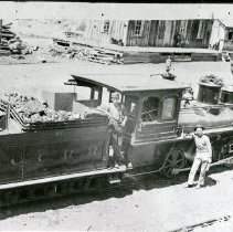 Image of Joe Hill with Colorado Central Engine
