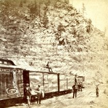 Image of Colorado Central Depot heading for Denver