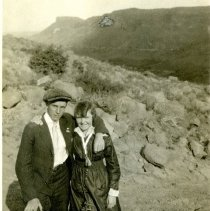 Image of Couple with South Table Mountain