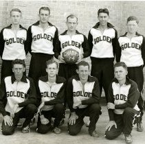 Image of Golden High Basketball Champs, 1934