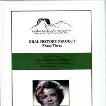 Image of Viona Mae Hader Oral History