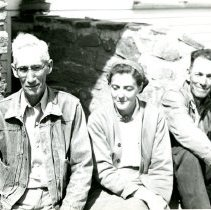 Image of George, Lela, and Kenneth Green