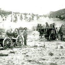 Image of Threshing Crew at Jully Ranch