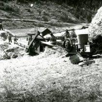 Image of Threshing on Robinson Hill