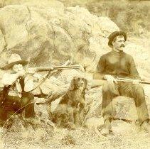 Image of Arch Koch & Bill McCordy hunting