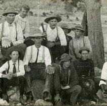 Image of Rough Riders baseball team