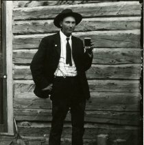 Image of Gus Koch with pint