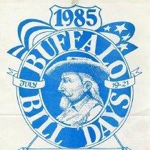 Image of 1985 Buffalo Bill Days Poster