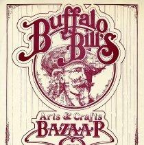 Image of 1985 Buffalo Bill's Arts & Crafts Bazaar Poster