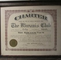 Image of Golden Kiwanis Charter