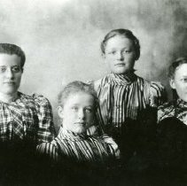 Image of Four Young Girls
