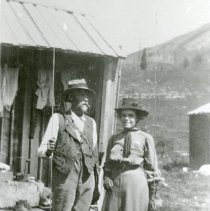 Image of Ruth Hoyt and Fishing Buddy