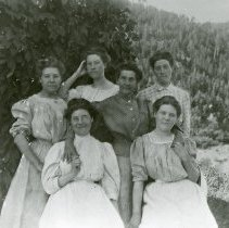 Image of Bengson Girls with mother