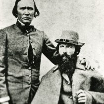 Image of Kit Carson and John Fremont