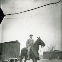 Image of General Hale on a horse