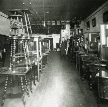 Image of Interior of J. L. Davidson Furniture and Undertaking