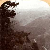 Image of Looking west over Clear Creek Canyon