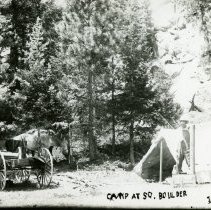 Image of Camp at South Boulder Creek