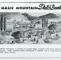 Image of Magic Mountain Sketch Book #1