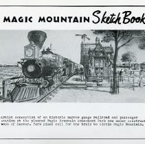 Image of Magic Mountain Sketch Book #3