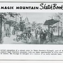 Image of Magic Mountain Sketch Book #4